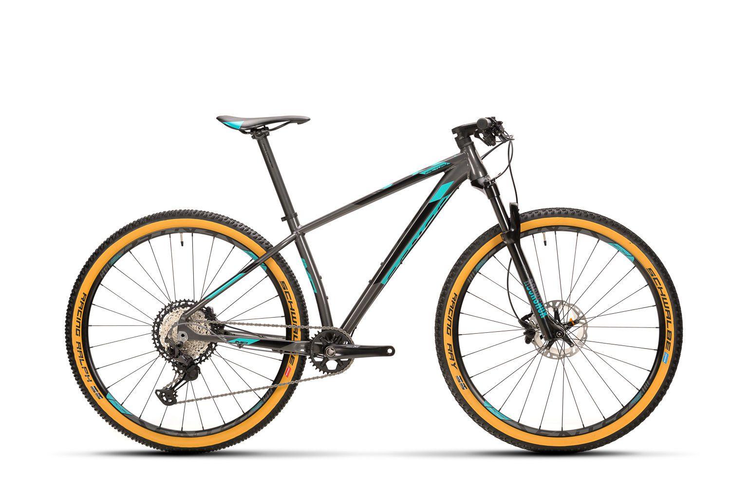 Bicicleta SENSE Impact Factory 2020 - 12v Shimano XT - Cinza/Acqua