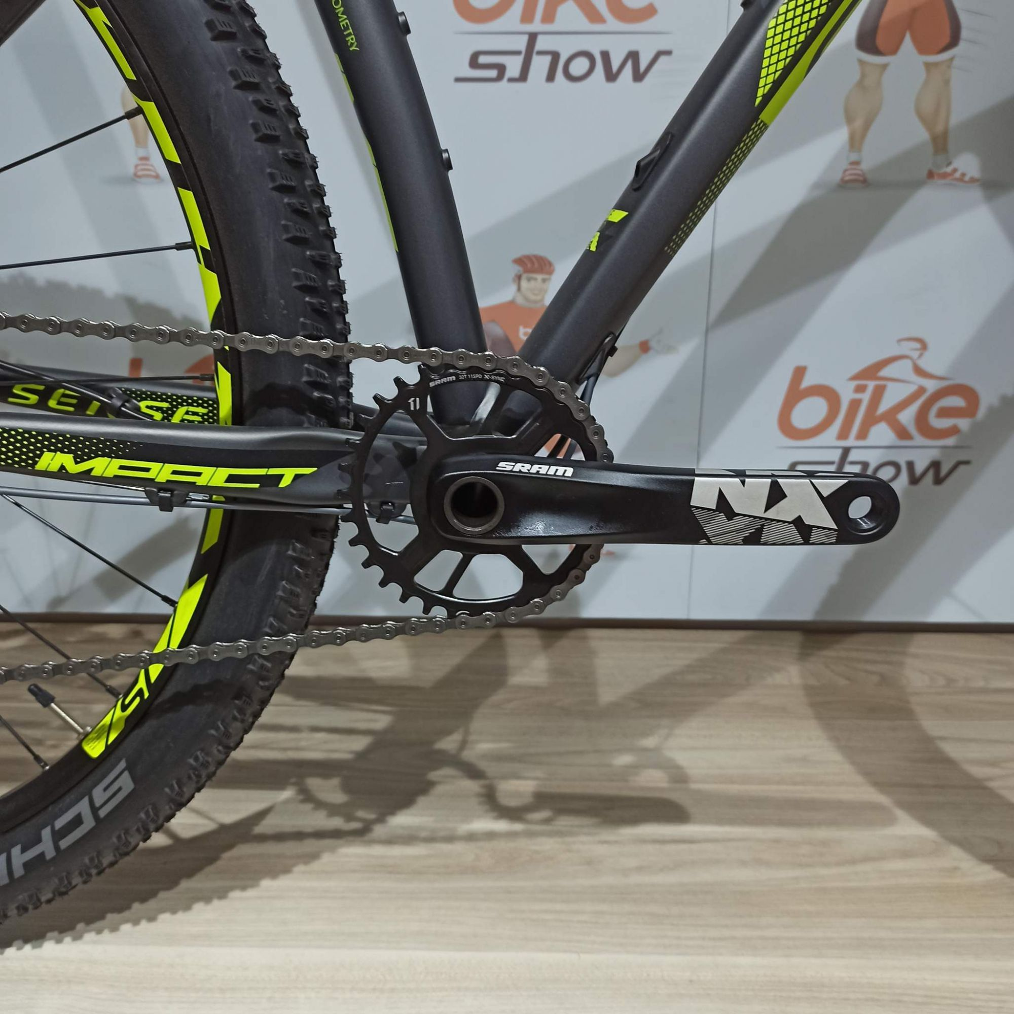 Bicicleta SENSE Impact SL aro 29 ano 2019 - Upgrade 12v Sram NX - Grupo Superior ao modelo 2020