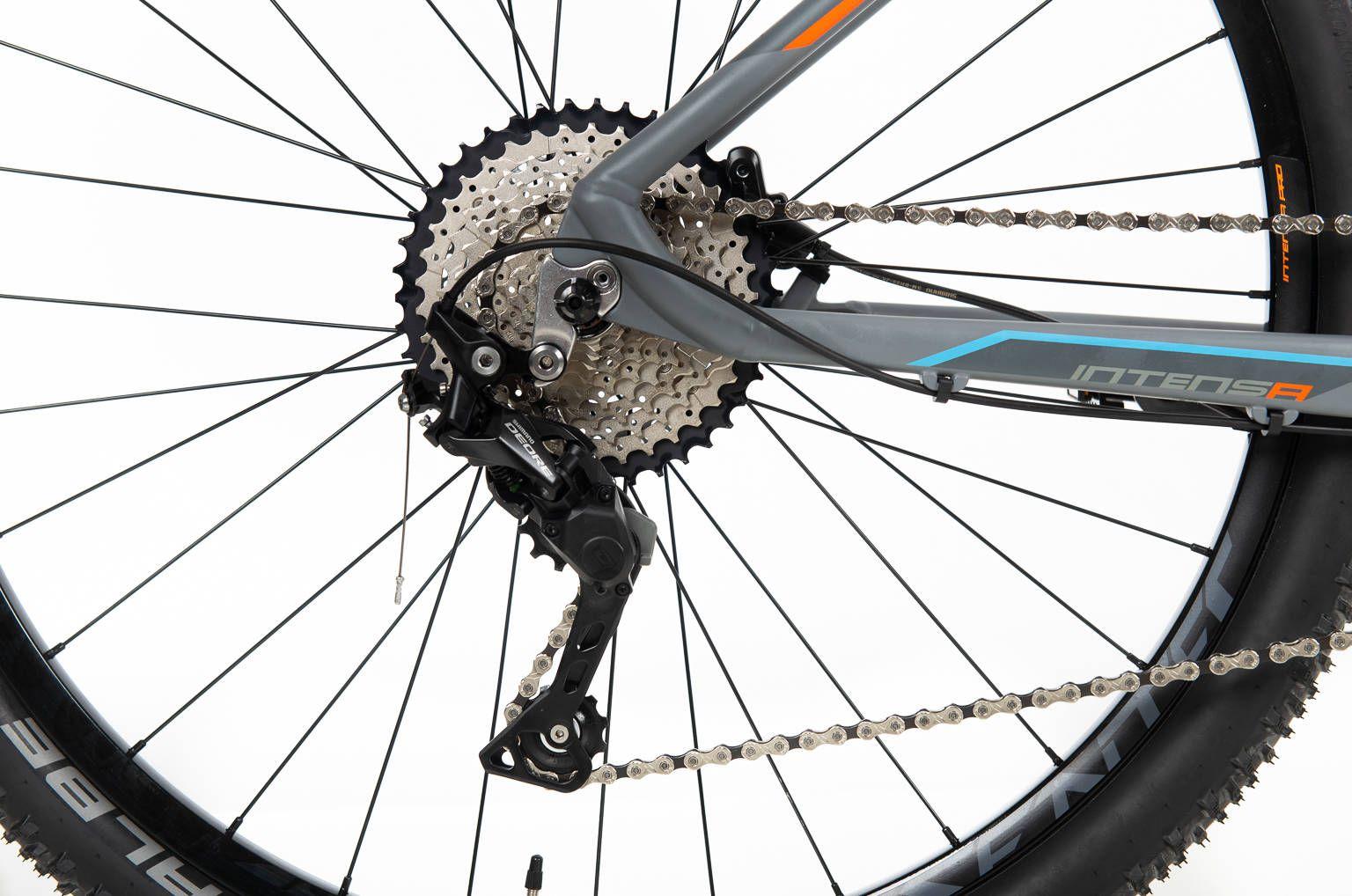 Bicicleta SENSE Intensa Pro 2020 - Chumbo/Laranja/Acqua