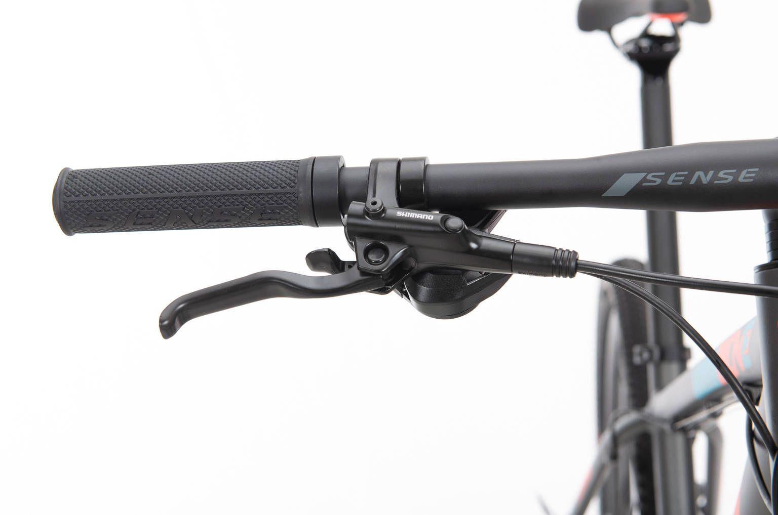 Bicicleta SENSE One 2020 - Cinza/Laranja/Azul