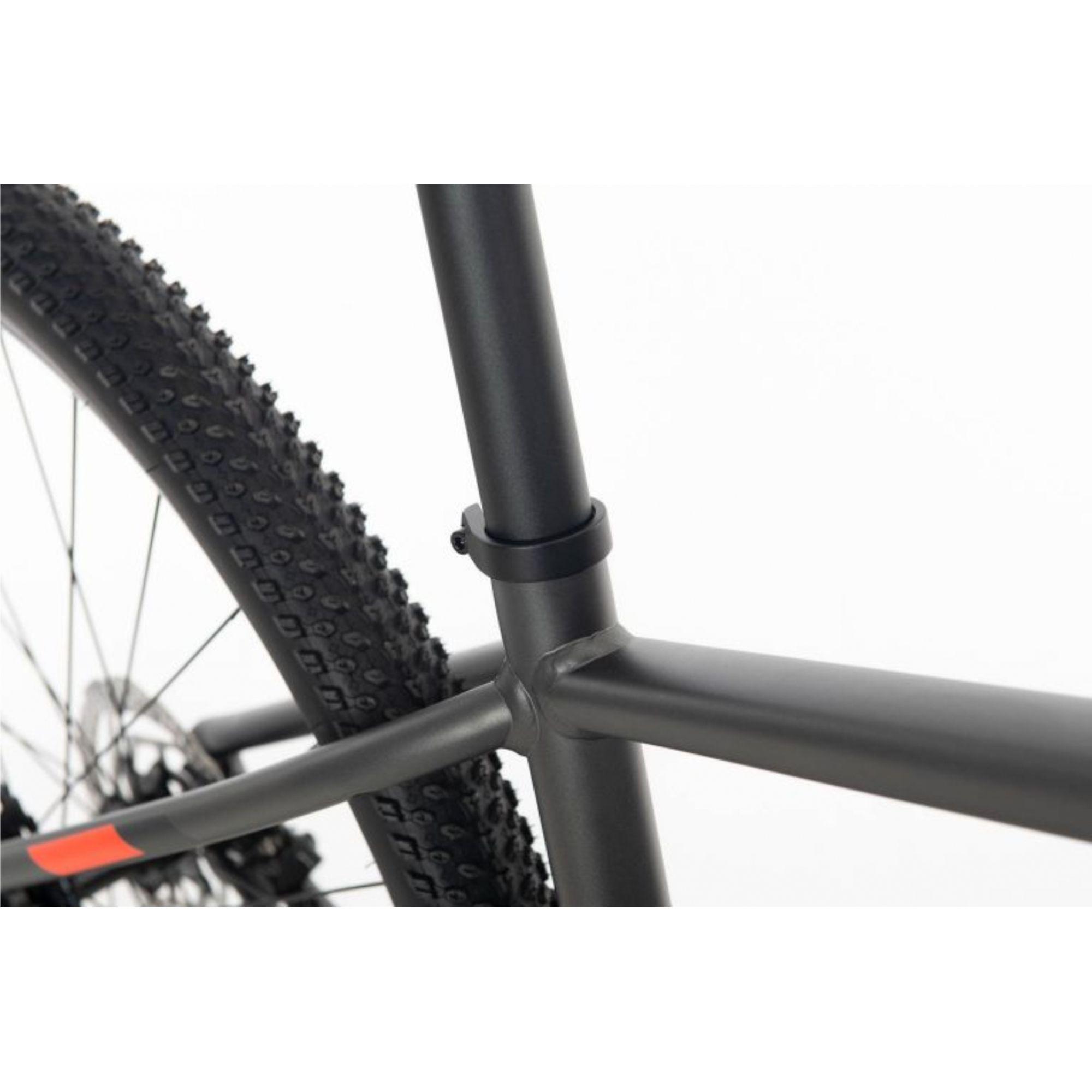 Bicicleta SENSE Rock Evo 2020 - 18v Shimano Alívio - Suspensão Rock Shox - Preto/Branco/Vermelho