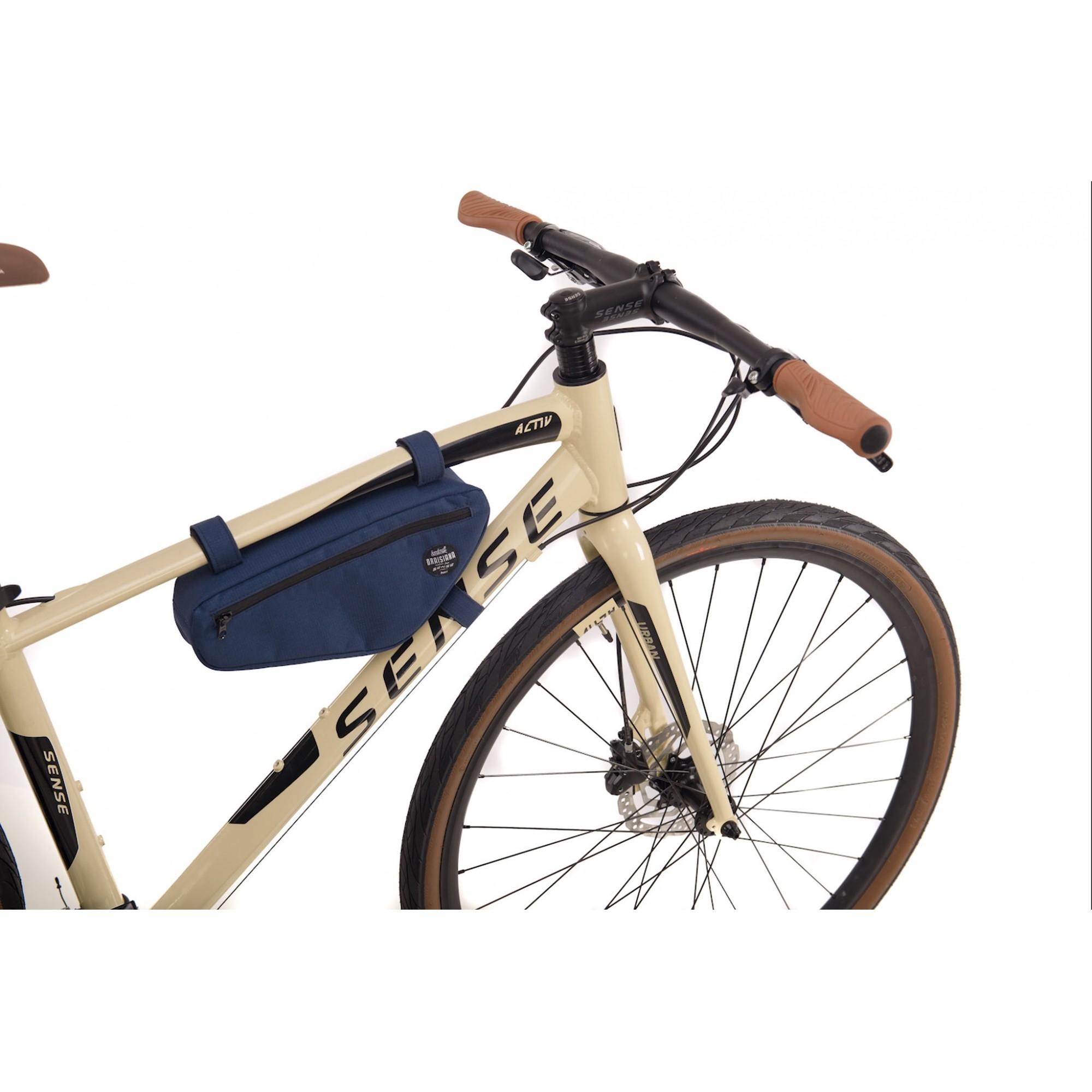 Bicicleta SENSE Urban Activ 2021 - 27v Shimano Altus - Freio Hidráulico - Creme