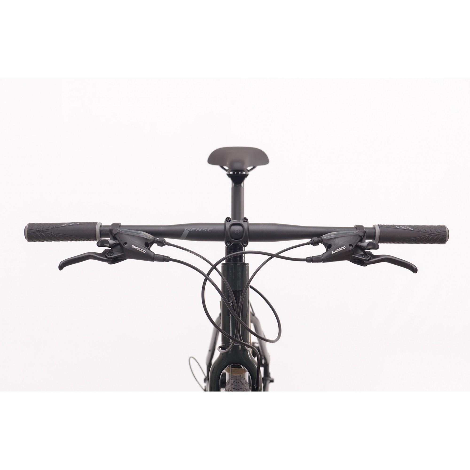 Bicicleta SENSE Urban Activ 2021 - 27v Shimano Altus - Freio Hidráulico - Verde