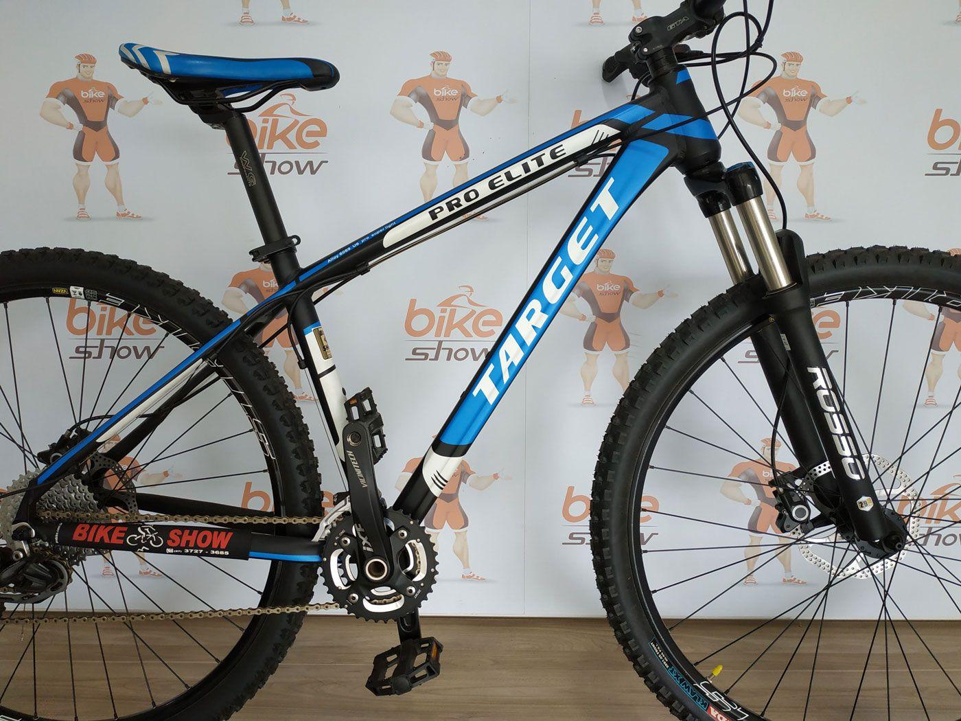 Bicicleta TARGET Pro Elite aro 29 - 20v Deore - Freio Hidráulico