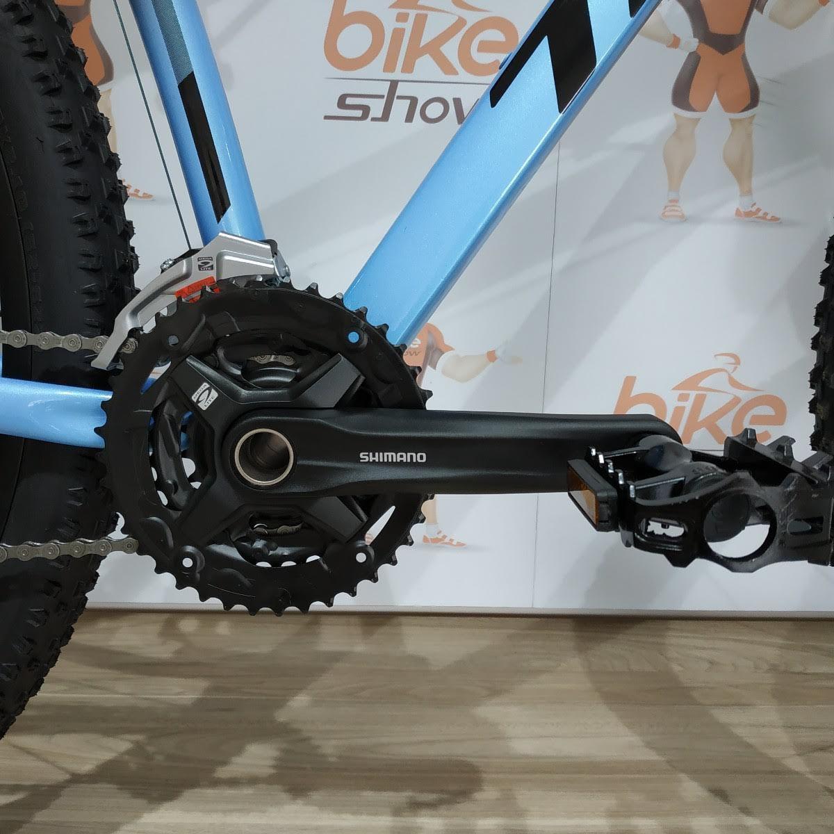 Bicicleta TSW Hunch Plus aro 29 2019 - 27v Shimano Altus - Freio Hidráulico - Azul