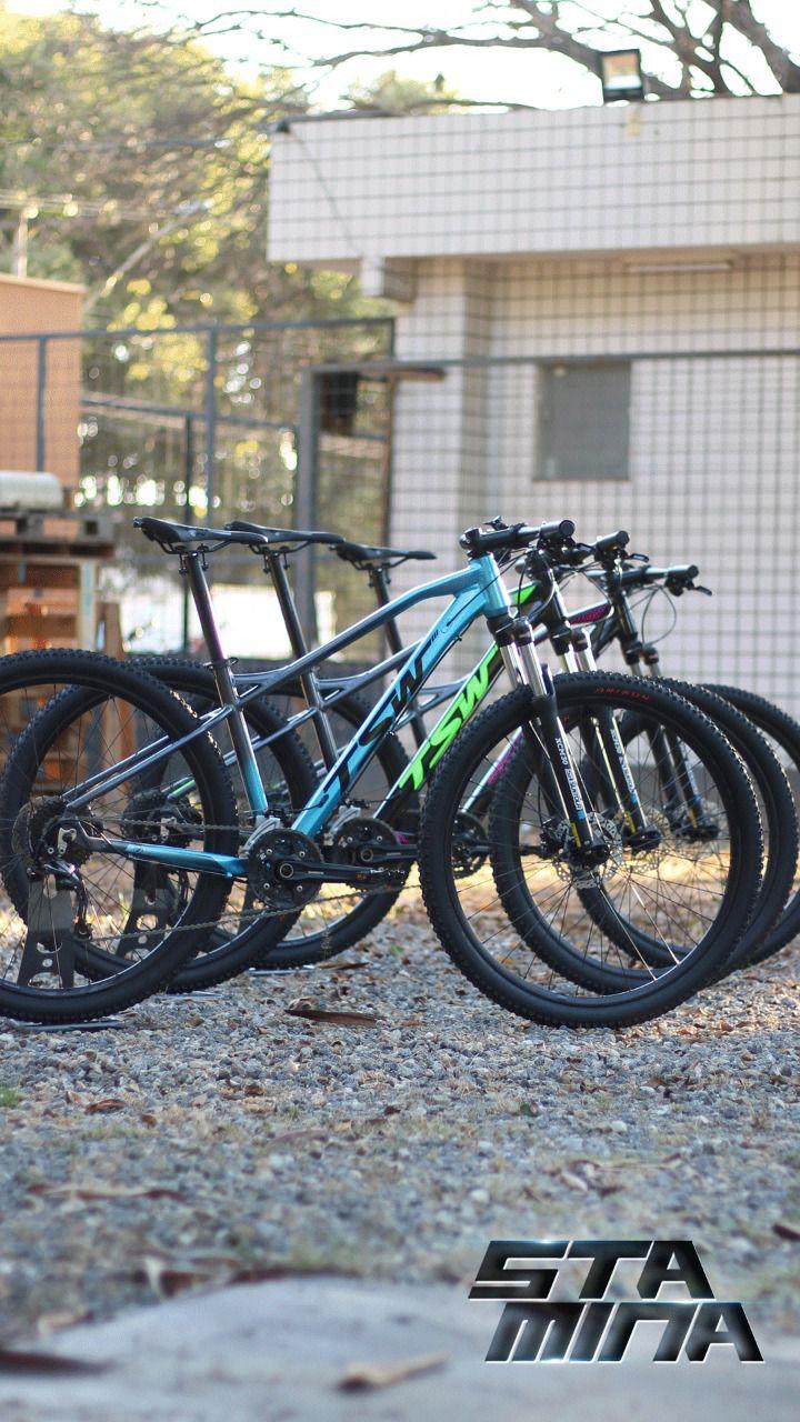 Bicicleta TSW Stamina aro 29 2020 - 27v Shimano Alívio - Freio Shimano Hidráulico - Pto/cz/Violeta + BRINDES