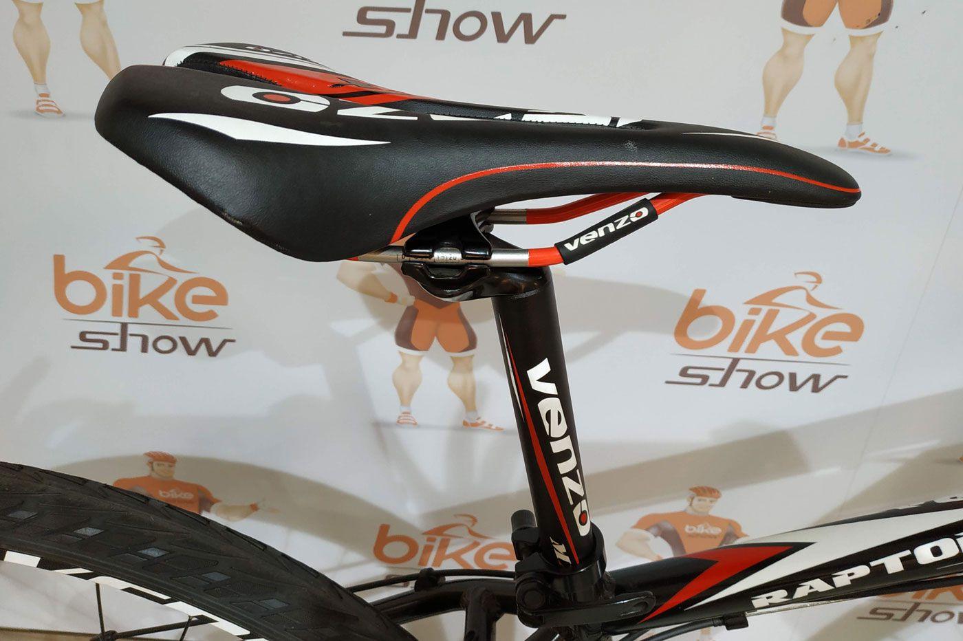 Bicicleta VENZO Raptor aro 700 - 24v Shimano Tourney - Freio a disco