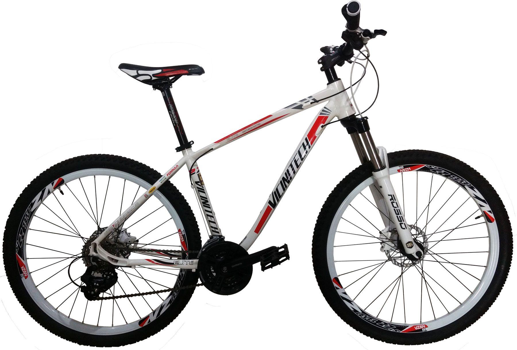 Bicicleta VICINITECH Elite aro 27,5 - 24v Shimano - Freio Hidráulico
