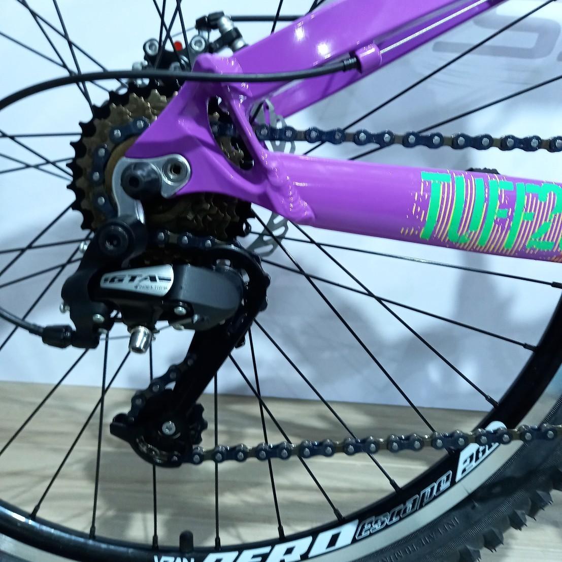 Bicicleta VIKING Tuff X-25 aro 26 - 21v GTA - Freio a Disco Veloforce - Suspensão Mode