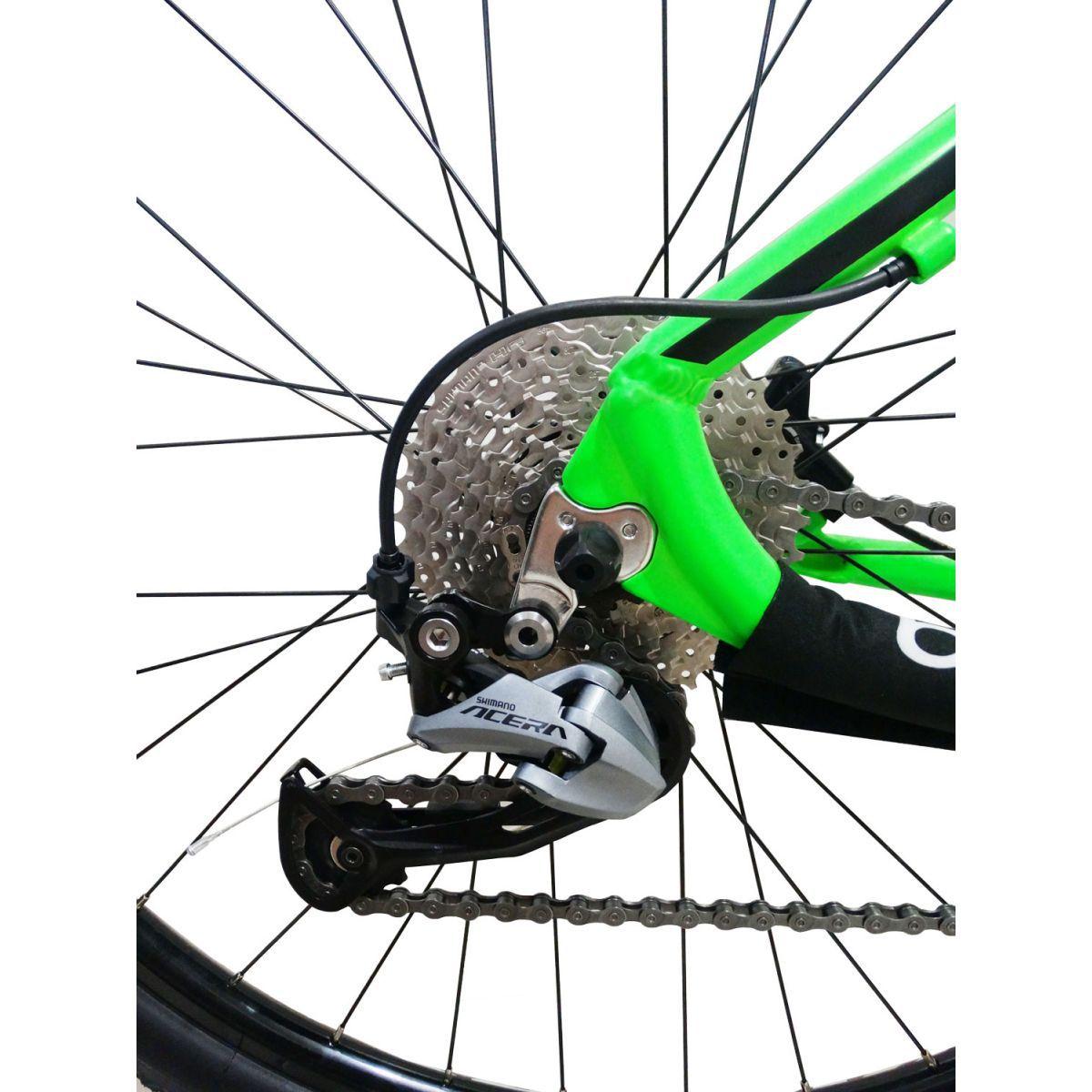 Bicicleta VIKINGX Futura aro 29 - Shimano Acera 27v - Freio Hidráulico