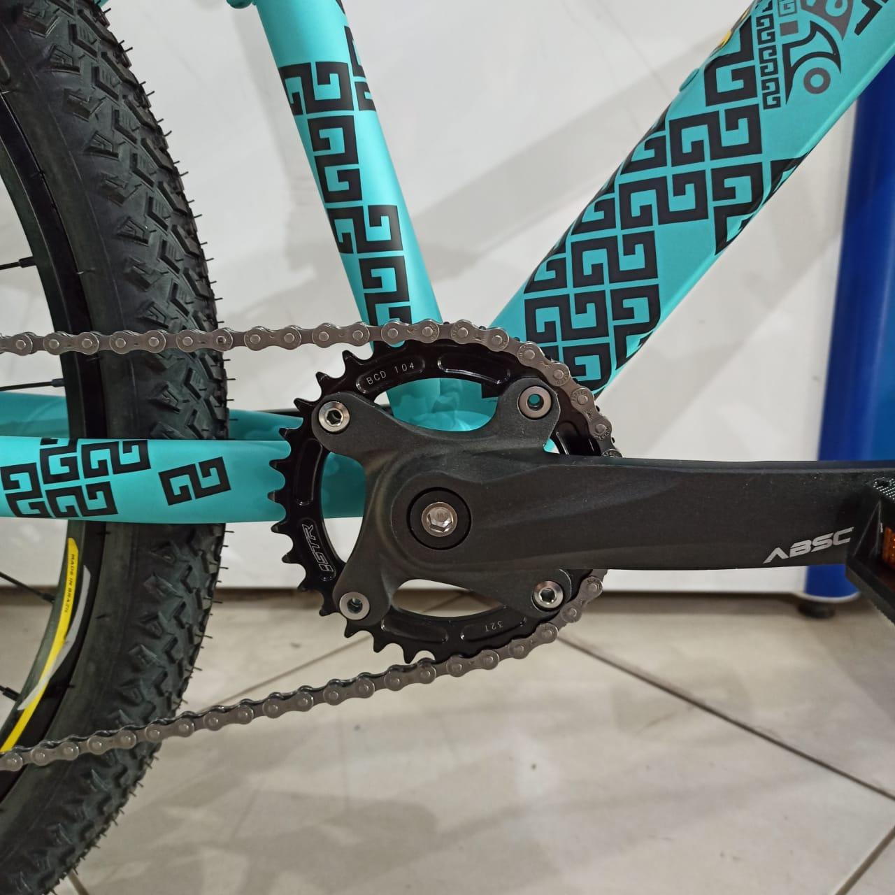 Bicicleta VIKINGX Tuff 30 aro 26 - 7v Shimano - Freio Shimano Hidráulico EDITAR