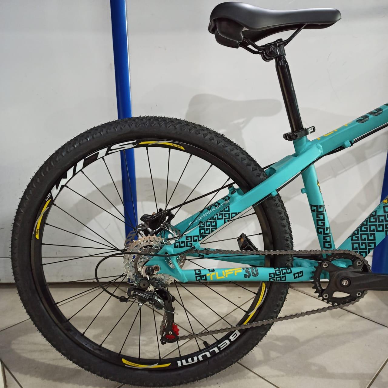 Bicicleta VIKING Tuff 30 aro 26 - 7v Shimano - Freio Shimano Hidráulico EDITAR