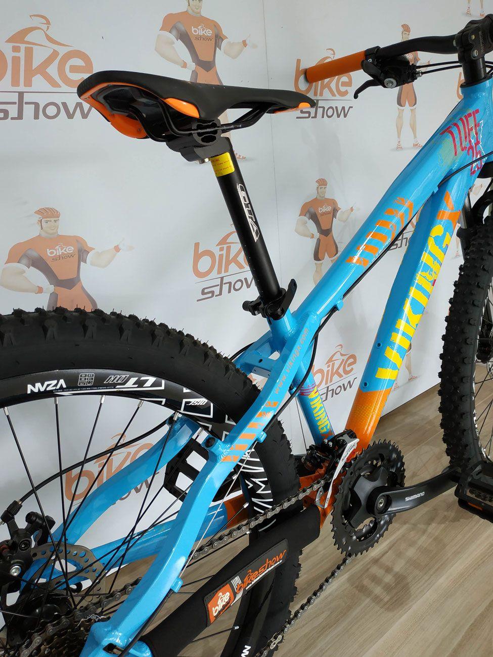Bicicleta VIKINGX Tuff X-25 aro 26 - 18v Sunrace - Freio a Disco
