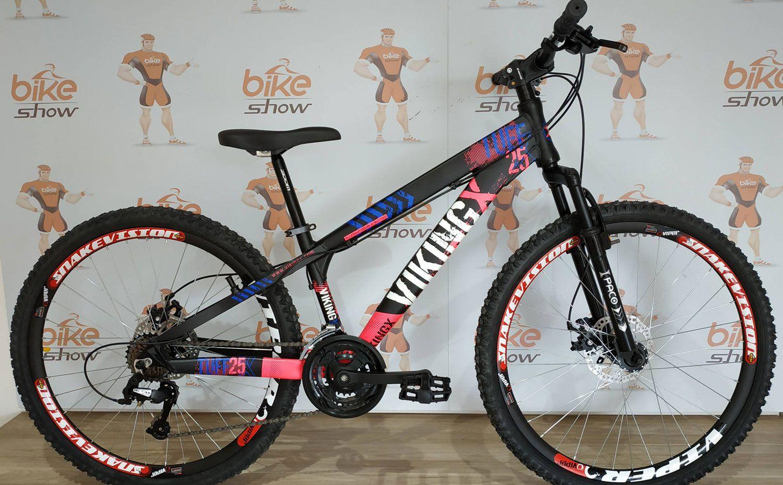 Bicicleta VIKING Tuff  X-25 aro 26 - 21v GTA - Freio a Disco