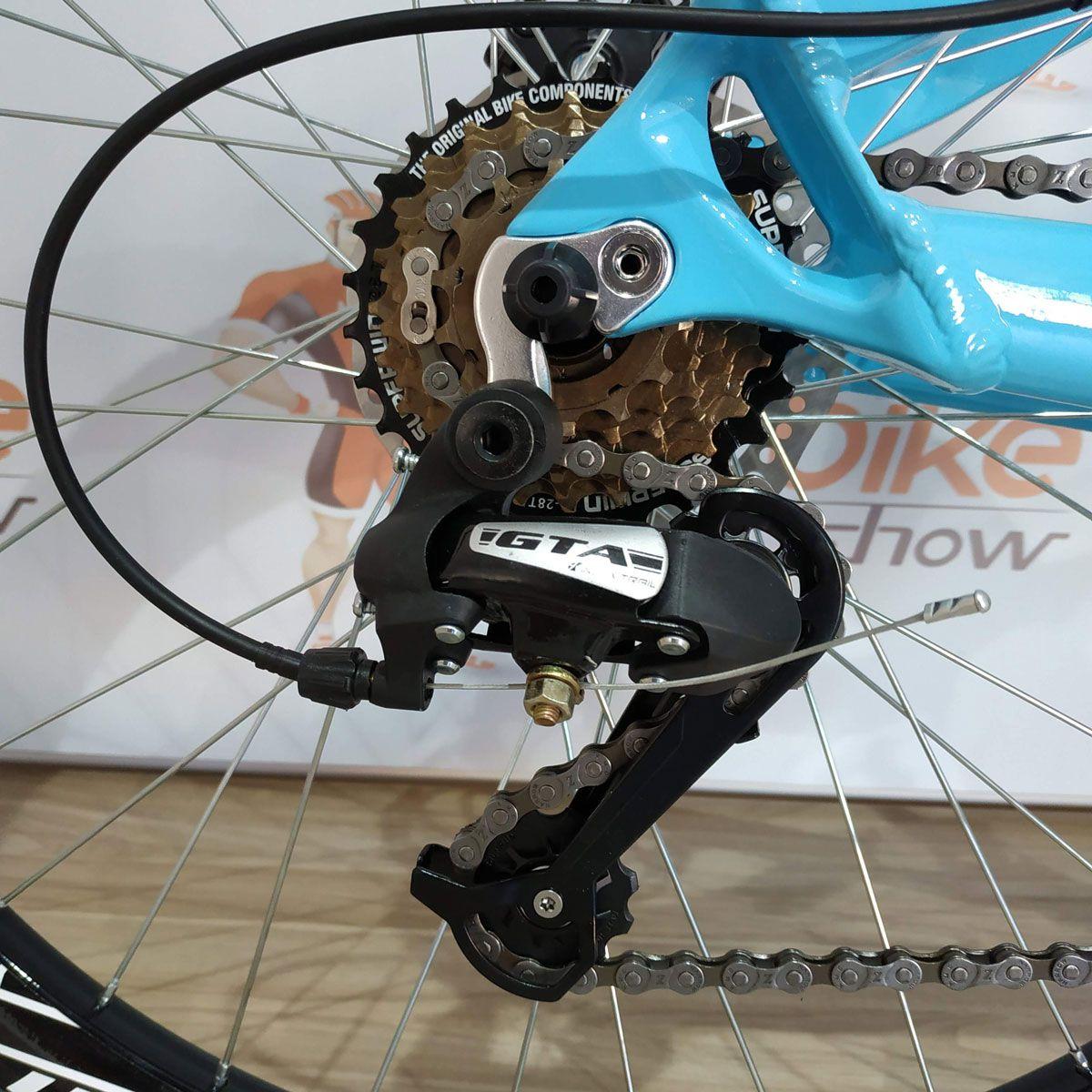Bicicleta VIKINGX Tuff  X-25 aro 26 - 21v Shimano - Freio a Disco