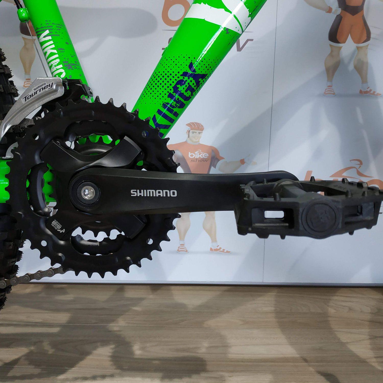 Bicicleta VIKINGX Tuff  X-25 aro 26 - 21v Shimano - Freio Shimano Hidráulico - Suspensão RST Dirt 130 mm