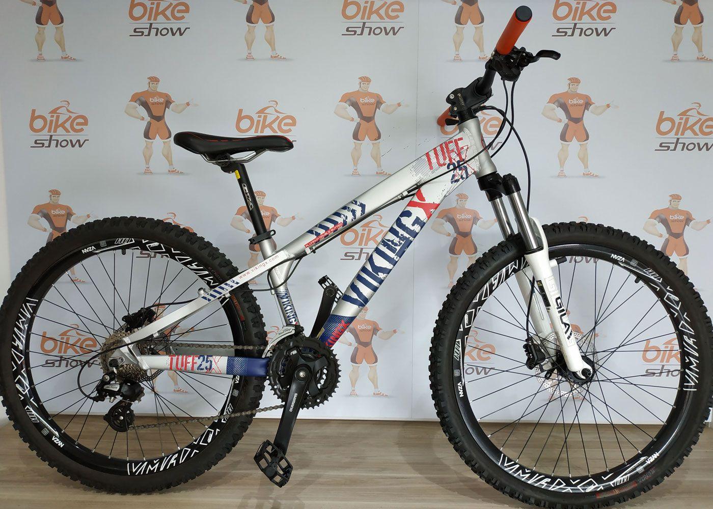 5a43721a72 Bicicleta VIKINGX Tuff X-25 aro 26 - 24v - Freio Hidráulico - Bike ...