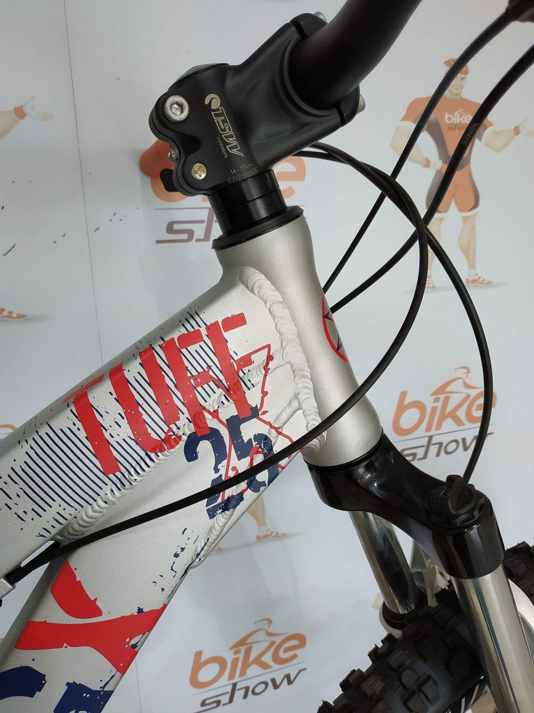 Bicicleta VIKINGX Tuff X-25 aro 26 - 24v  - Freio Hidráulico