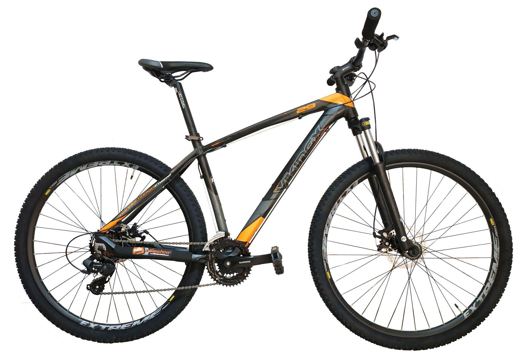 Bicicleta VIKINGX Ultra aro 29 - 21v Shimano - Freio a Disco