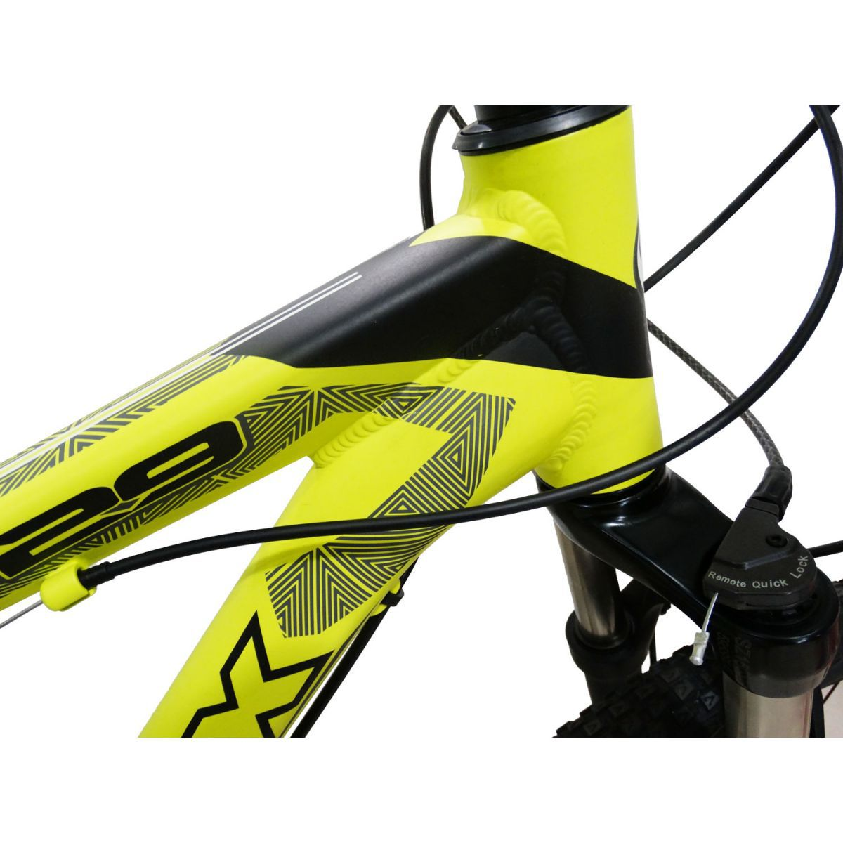 Bicicleta VIKINGX Ultra aro 29 - 27v Shimano Acera - Freio Shimano Hidráulico