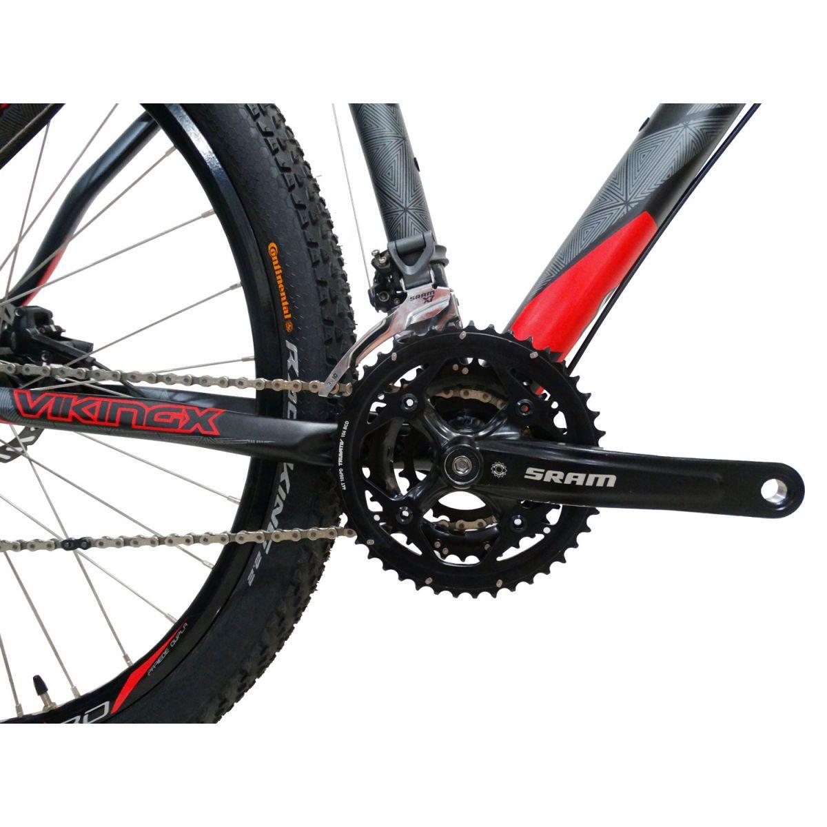 Bicicleta VIKINGX Ultra aro 29 - Sram X7 30v - Freio Hidráulico
