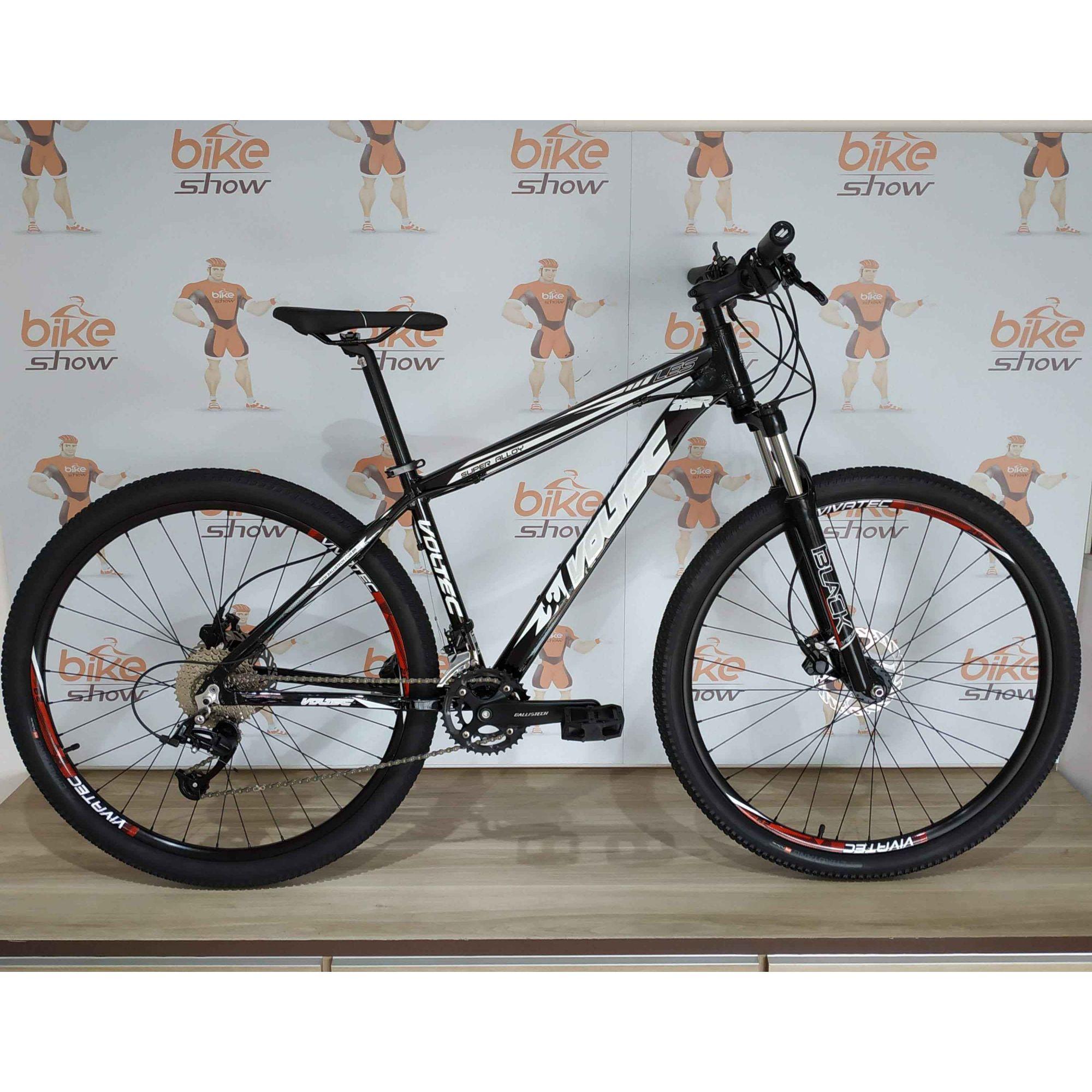Bicicleta VOLTEC LES aro 29 - 18v Ballistech - Suspensão Voltec com trava no guidão