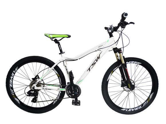 Bicicleta TSW Posh aro 27,5 - Shimano Tourney 24v - Freio Hidráulico