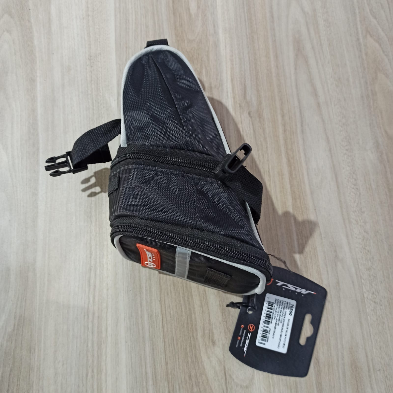 Bolsa TSW de Selim Impermeável Nylon Ziper Ciclismo