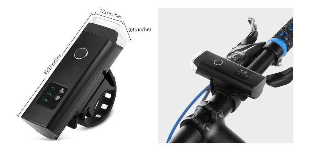 Farol JWS WS-277 Com Sensor Inteligente Recarregável USB