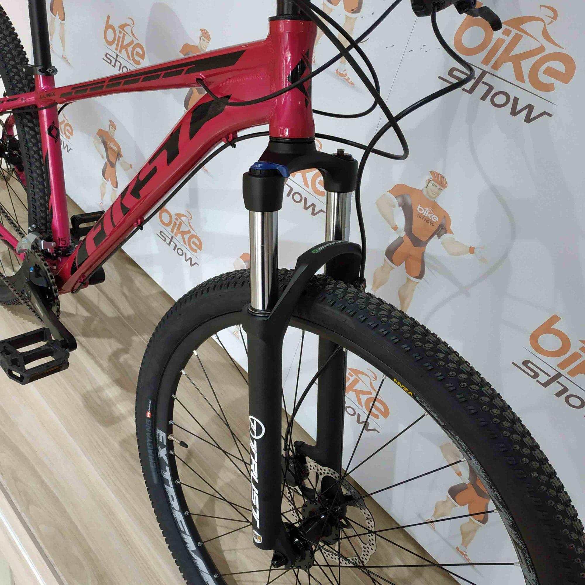 Bicicleta FIRST Lunix New 2020 aro 29 - 16v Shimano Altus - Freio Shimano Hidráulico - K7 Sunrace 11/40 dentes