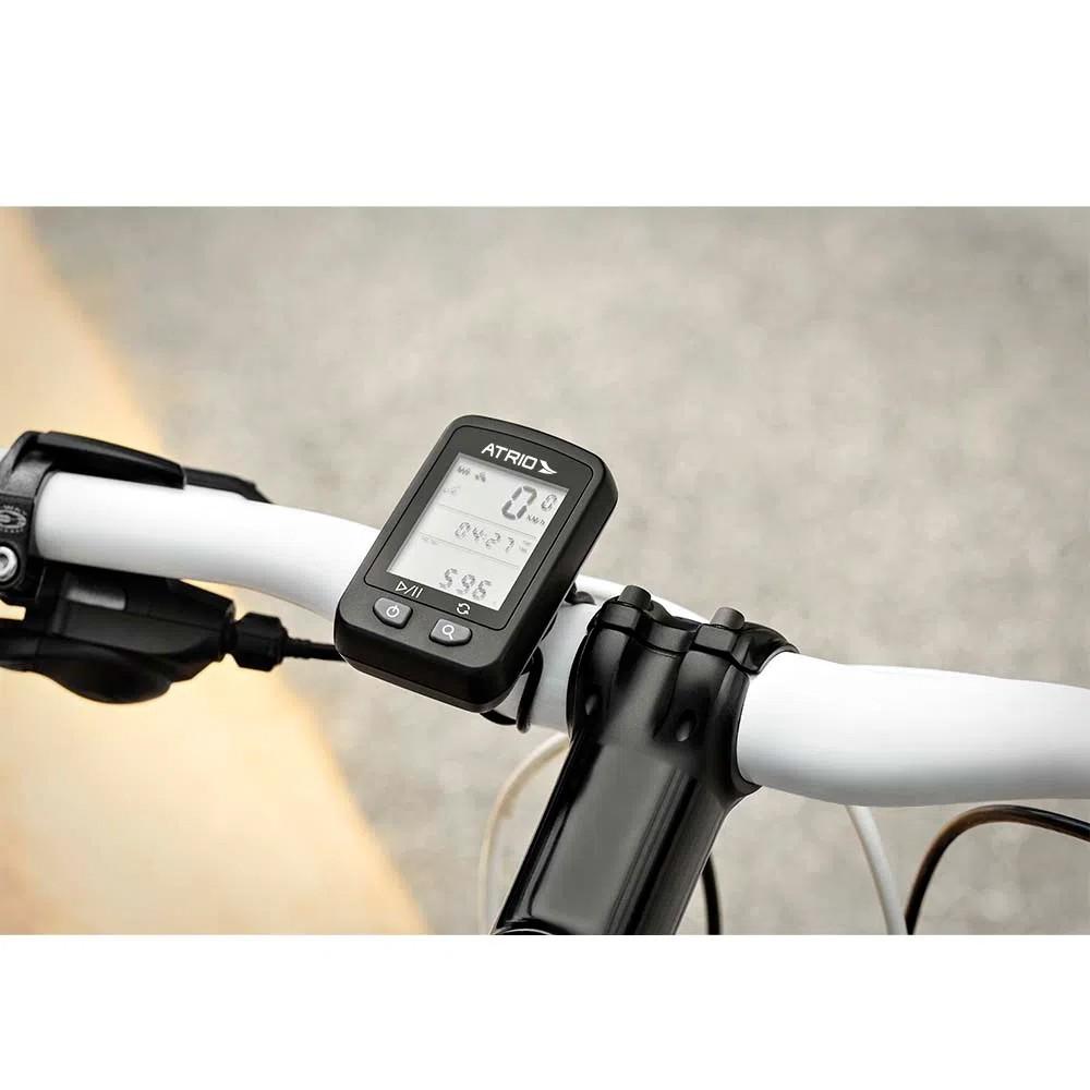 Gps ATRIO Iron Ciclismo à prova d'agua e Compatível com STRAVA Recarregável
