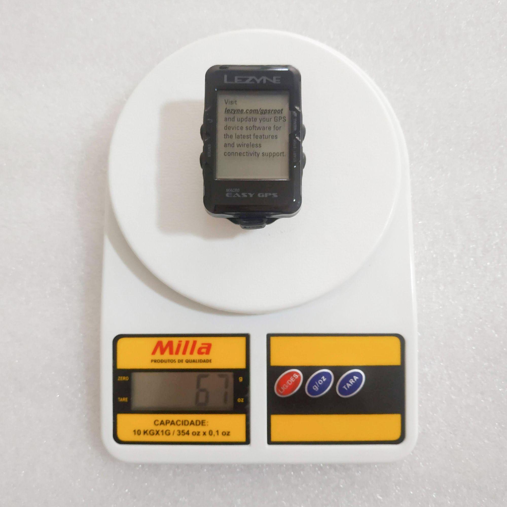 GPS LEZYNE MACRO EASY Ciclocomputador Preto