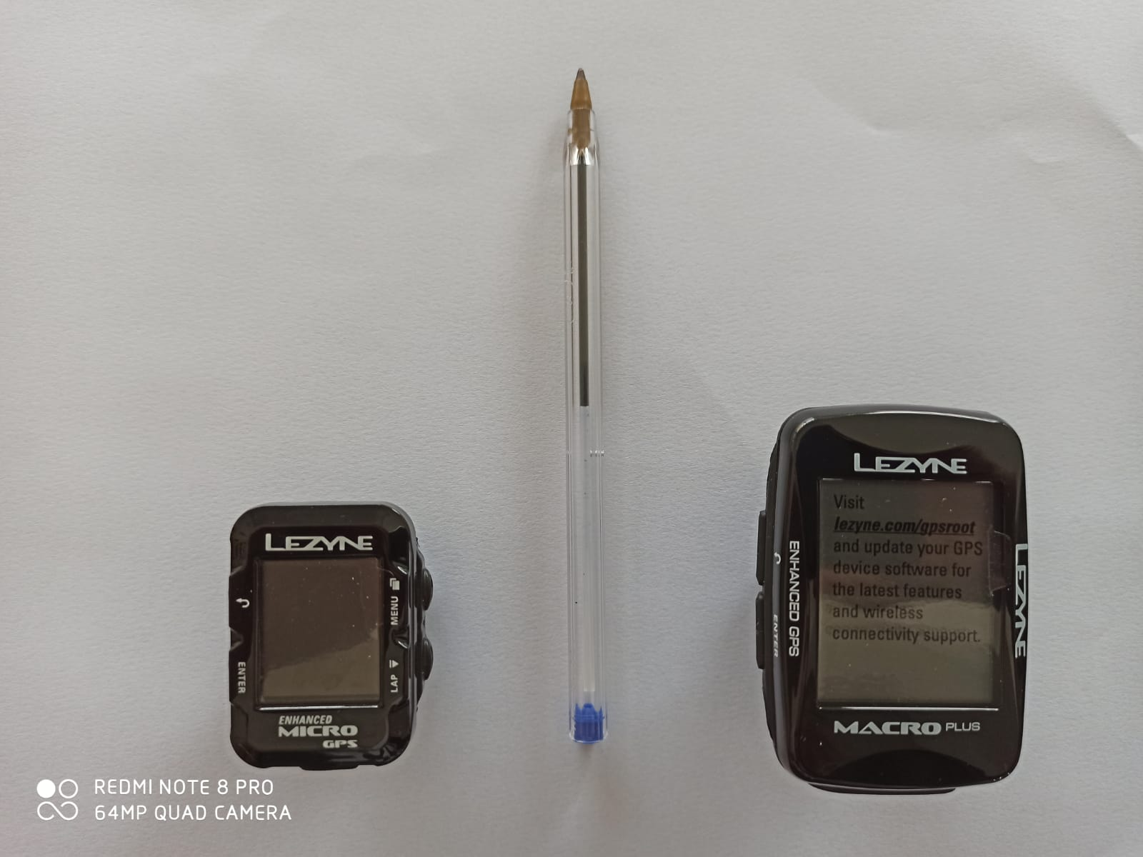 GPS LEZYNE MICRO GPS Ciclocomputador Preto