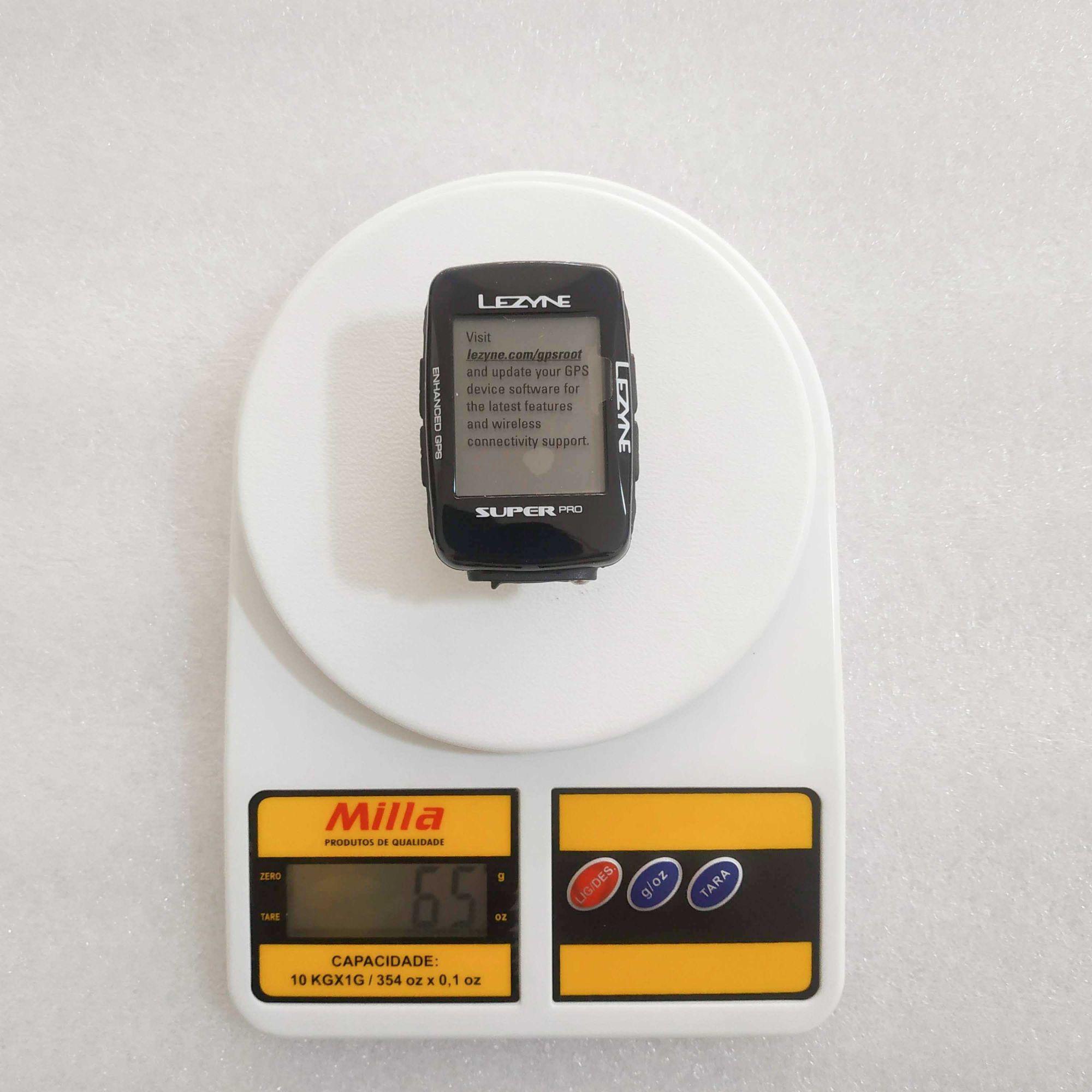 GPS LEZYNE SUPER PRO GPS Preto ANT+