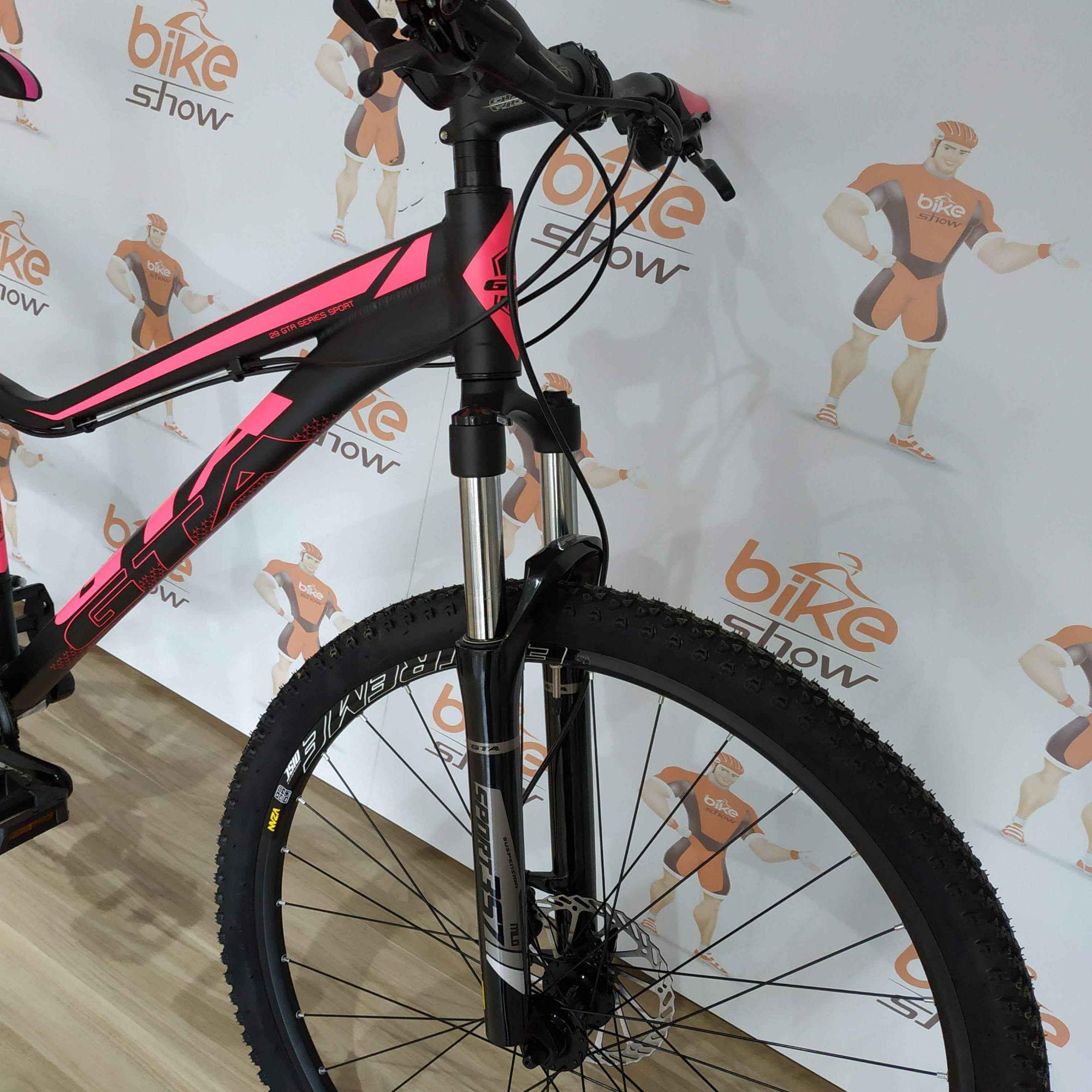 Bicicleta GTA NX11 Feminina aro 29 - 24v Shimano Tourney - Cubos Cassete de Rolamentos