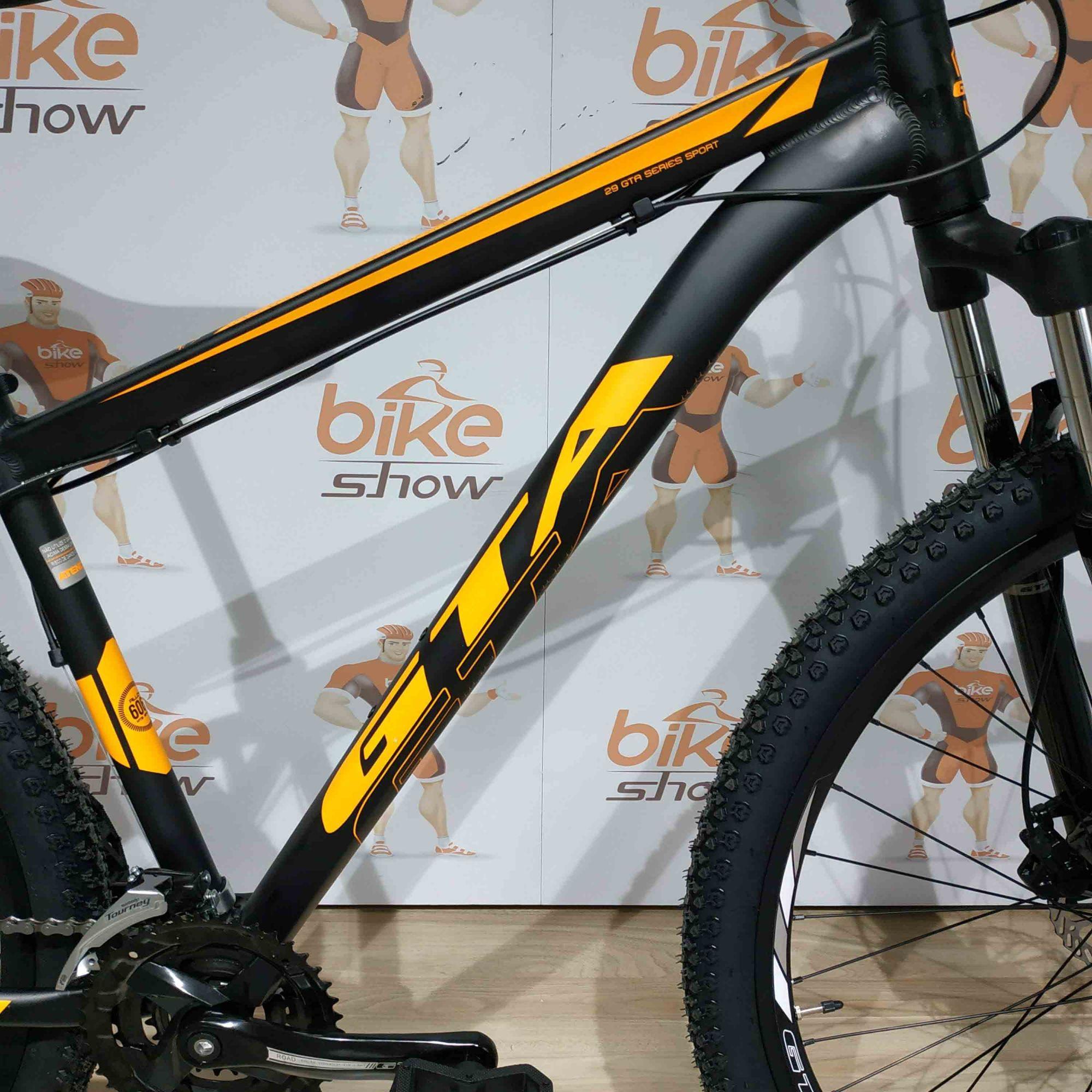 Bicicleta GTA NX11 aro 29 - 24v Shimano Touney - Freio Hidráulico - Suspensão GTA em alumínio
