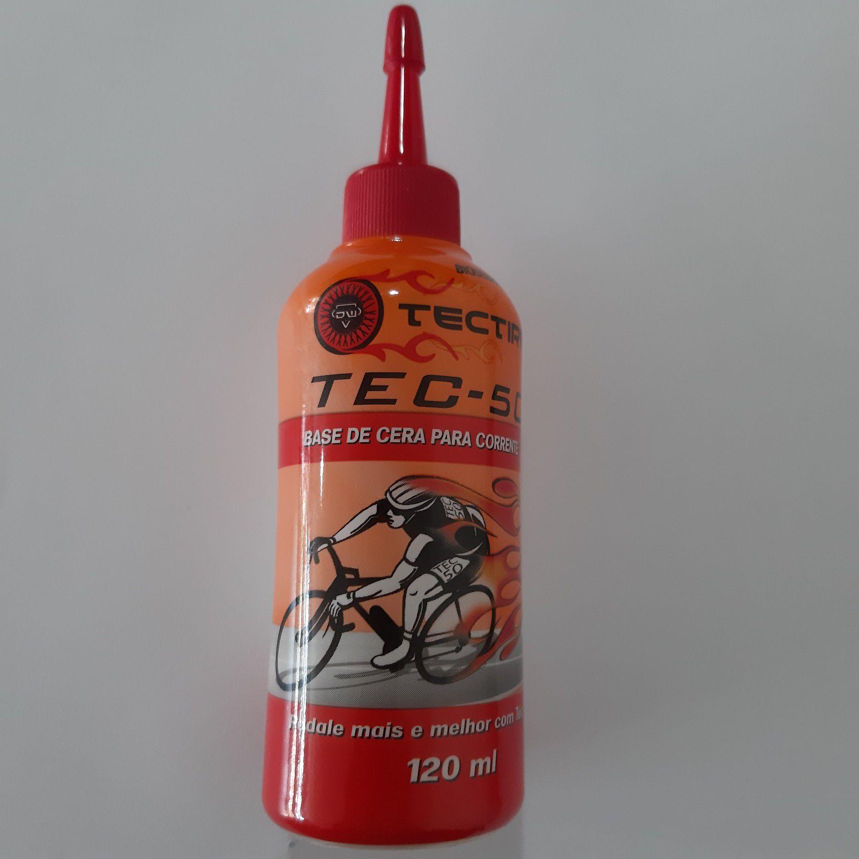 Lubrificante TECTIRE TEC-50 Base Cera 120ml