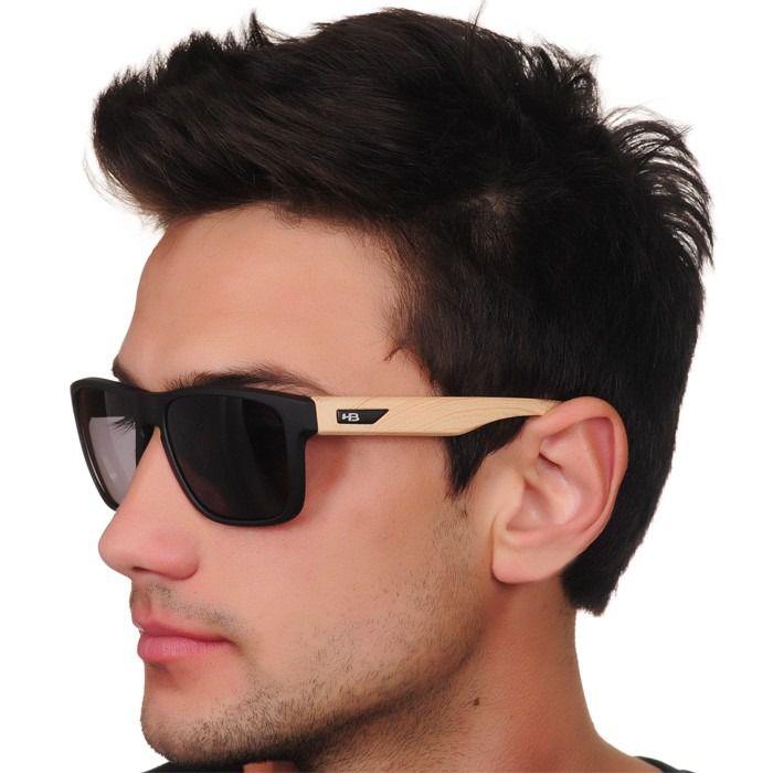Óculos de Sol HB H-Bomb Preto/Madeira