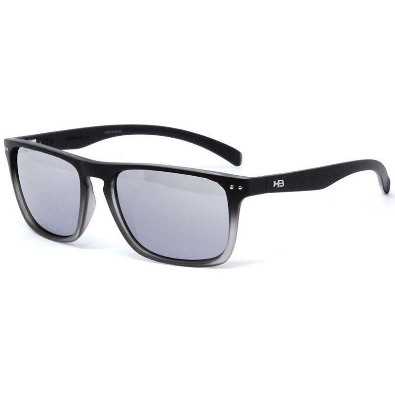 Óculos HB Cody Matte Fade Black/Onix Silver - Espelhado