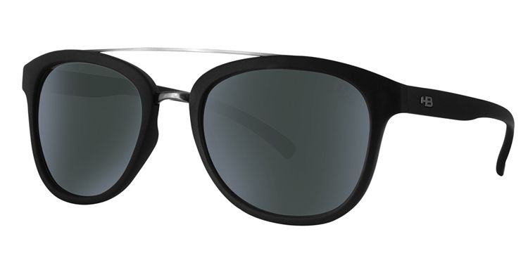 Óculos HB Moomba Matte Black Gray -