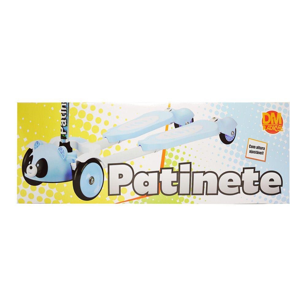 Patinete DM-TOYS Dacing Panda Radical 4 Rodas Para 2 Pés