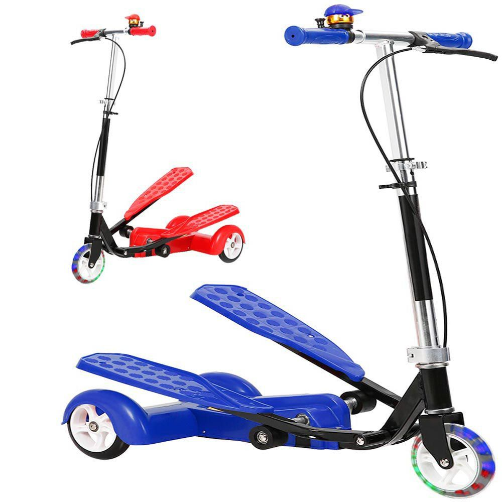 Patinete Transport Infantil Radical C/ Campainha Led 3 Rodas