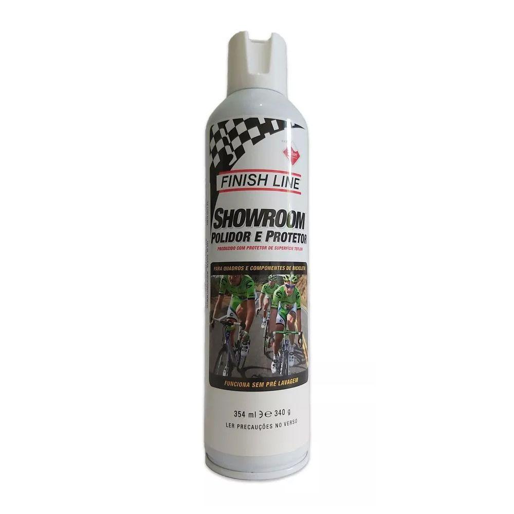 Polidor Protetor FINISH LINE Showroom Spray Teflon 354ml