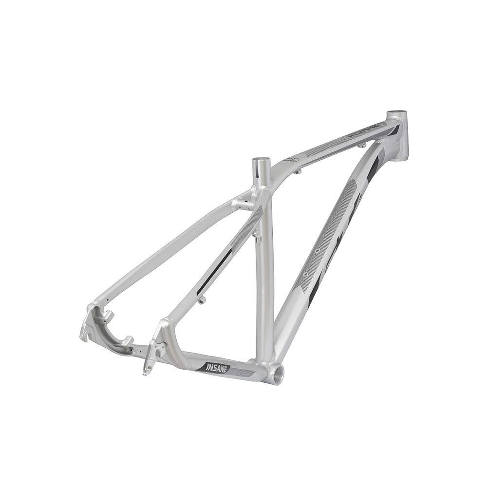 Quadro MTB GTA Insane aro 29 Alumínio - Prata