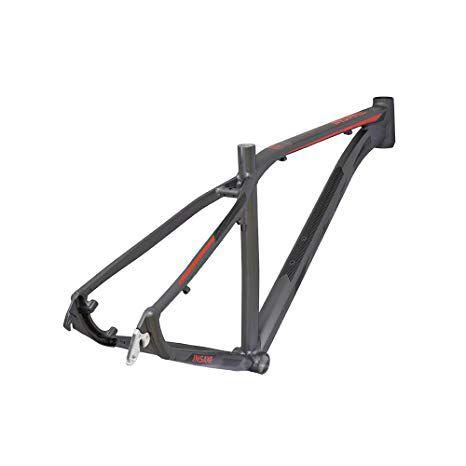 Quadro MTB GTA Insane aro 29 Alumínio - Grafite/Vermelho