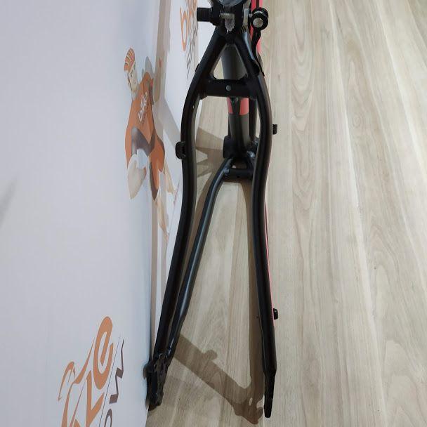 Quadro MTB GTA NX11 aro 29  Alumínio - Preto/Rosa Fosco