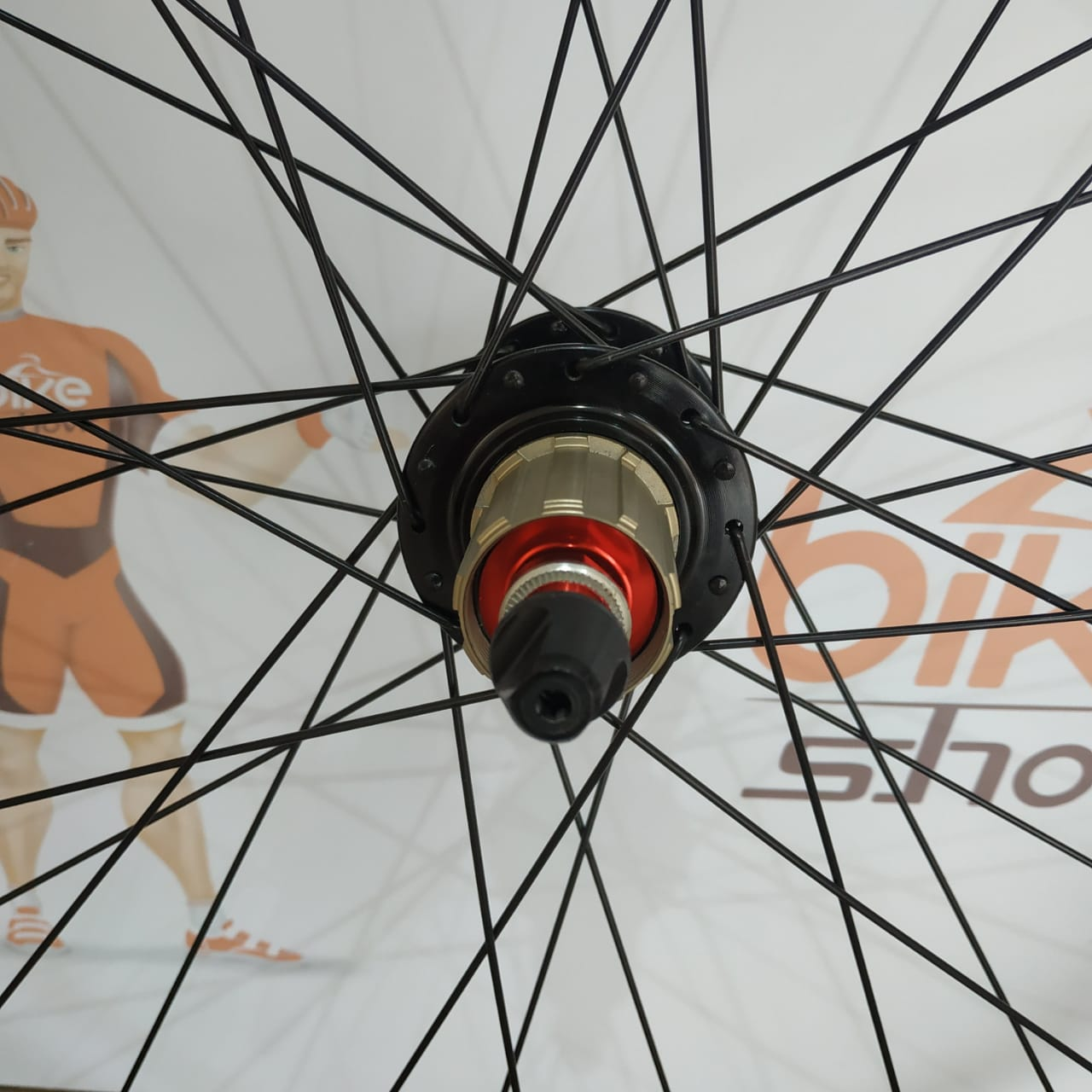 Rodas ALEX RIMS 29 Tubeless com cubos High One de rolamentos (par)