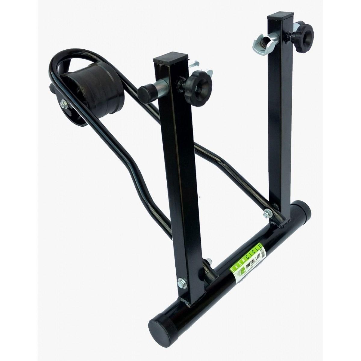 Rolo de treinamento para bikes METAL LINI Exercicle - Dobravél