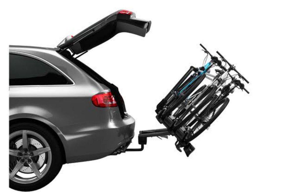 Transbike THULE VeloCompact 927 para engate de reboque 3 Bikes