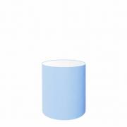 Cúpula Abajur Cilíndrica Cp-7001 Ø13x15cm - Azul Bebê